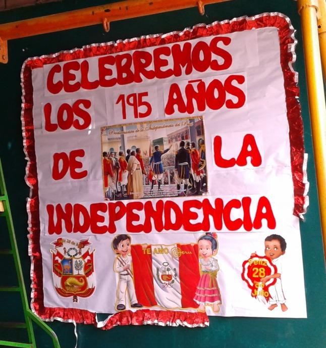 Periodico mural de fiestas patrias del peru resumido for Diario mural fiestas patrias chile